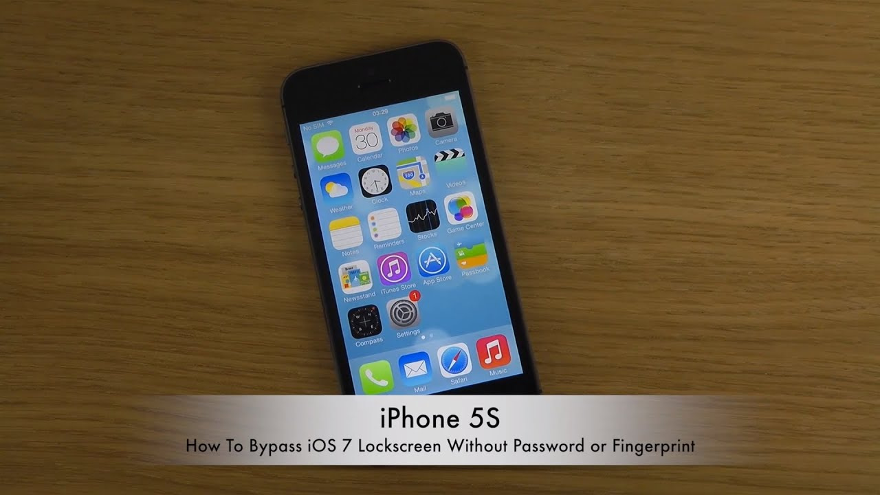 how to bypass password on iphone how to bypass iphone 5s ios 7 lockscreen without password 18611