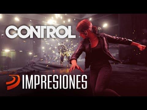 Esto es CONTROL!! De los creadores de Max Payne y Alan Wake