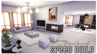 Casa futurista moderna ⚪⚫   modern futuristic house   Adopt me Roblox   Osiris Garcia