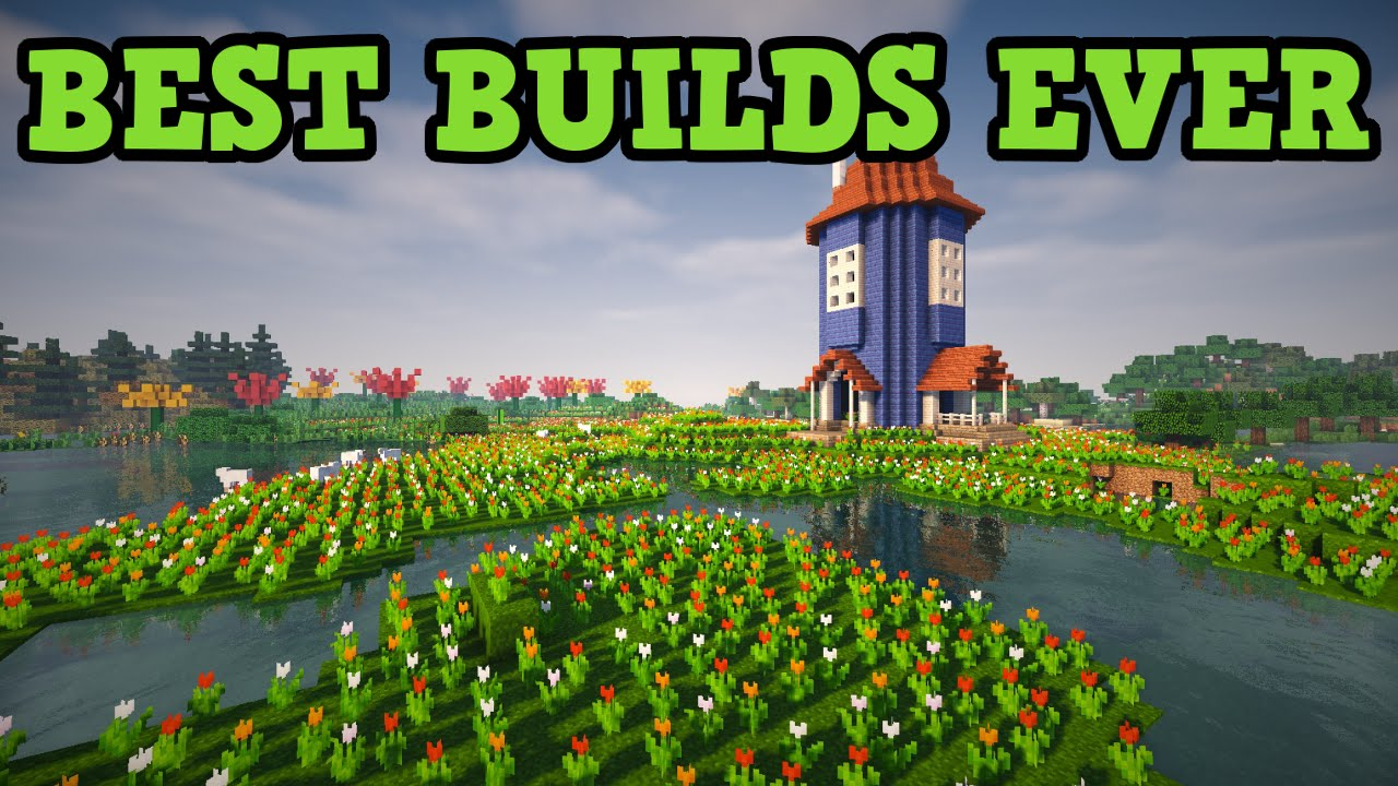 Minecraft - BEST BUILDS EVER (Top 10) - YouTube
