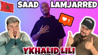 GERMAN Reaction to Saad Lamjarred - YKHALIK LILI (Lyrics Music Video) سعد لمجرد - يخليك للي