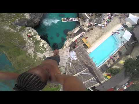 Spider - Cliff Diving at Rick's Cafe, Negril, Jamaica