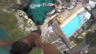 Spider - Cliff Diving at Rick's Cafe, Negril, Jamaica thumbnail