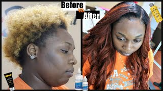 MAKE LACE CLOSURE LOOK LIKE FRONTAL(VERY DETAIL LACE CLOSURE SEW-IN)