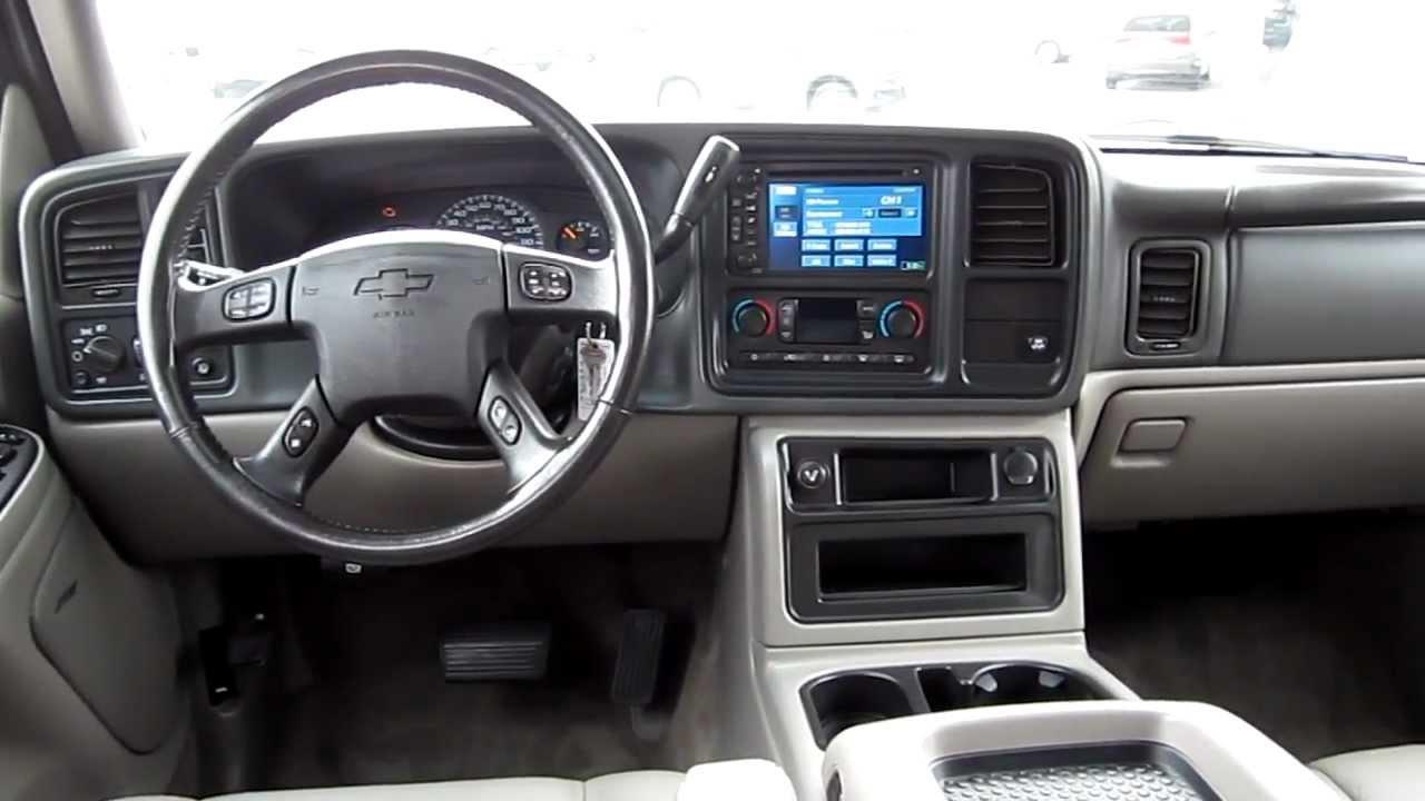 2005 Chevrolet Tahoe 4wd Black Stock 12300a Interior