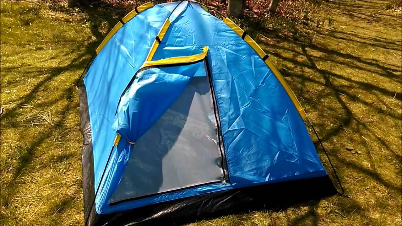 & Happy Camper Two Person Tent Review - YouTube