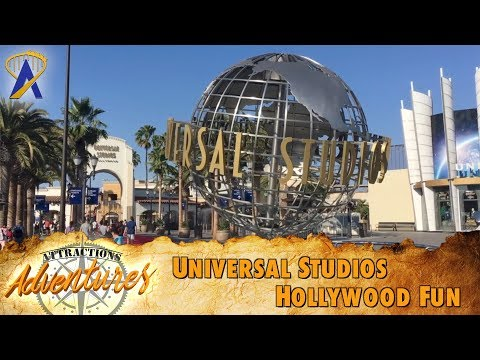 Attractions Adventures - 'Universal Studios Hollywood Fun' - Aug. 11, 2017
