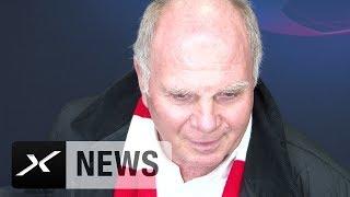 Uli Hoeneß: Borussia Dortmund Favorit, Juan-Bernat-Aussage tut mir leid | FC Bayern - AEK Athen 2:0