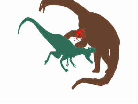 giganotosaurus vs argentinosaurus - YouTube