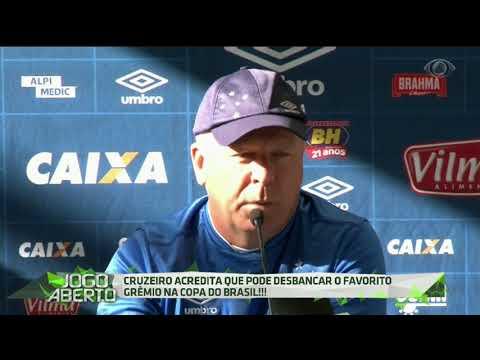 Raposa Aposta Na Vitória Diante Do Grêmio Na Copa Do Brasil