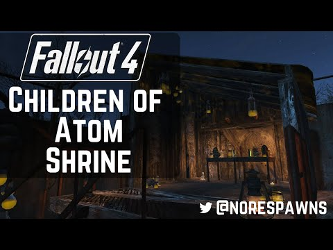 Fallout 4 Far Harbor - Building a Children of Atom Shrine