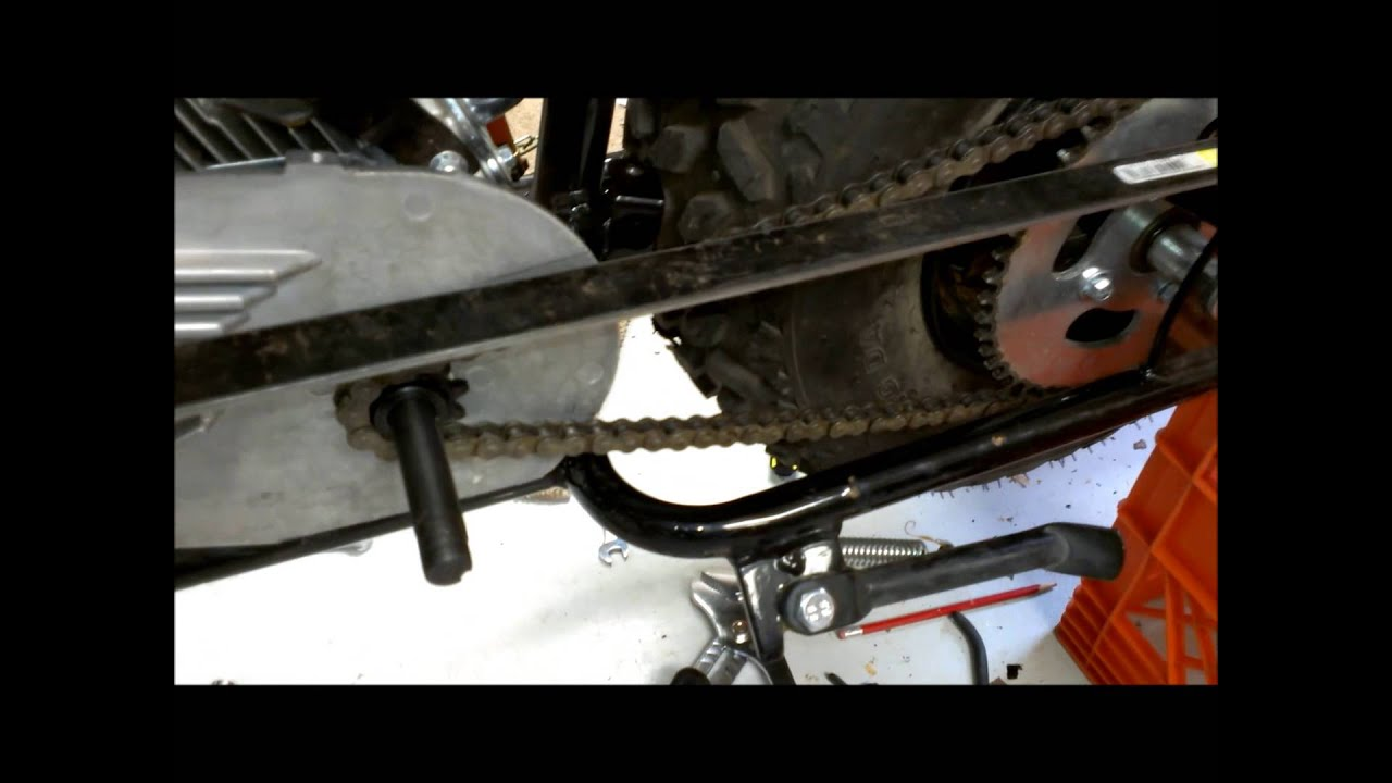 Mini Bike Clutch Installation : Torque converter installation baja mb youtube