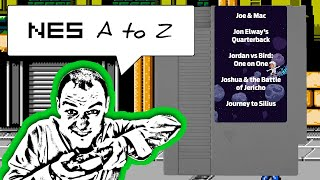 NES AtoZ 85: Joe & Mac, Jon Elway's Quarterback, Jordan vs Bird, Joshua & Journey to Silius