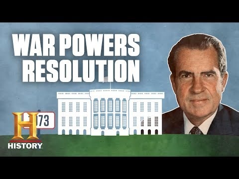 What Was the War Powers Resolution of 1973?   History