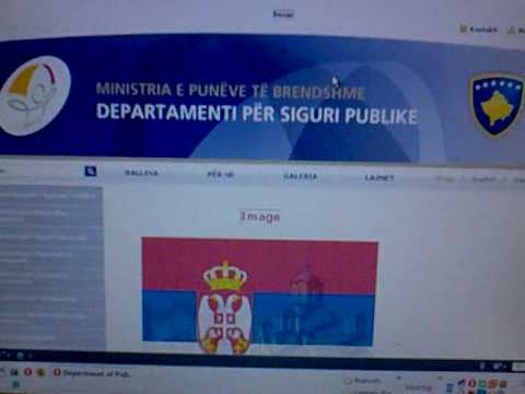 Kosovo site deface by : Serbian Hackers Group ( SHG )