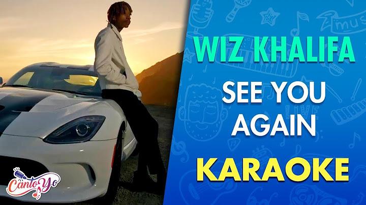 wiz khalifa  see you again ft charlie puth karaoke  cantoyo