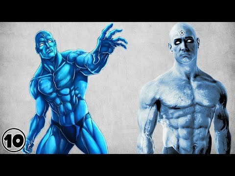 Top 10 Doctor Manhattan Surprising Facts