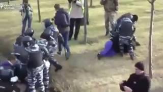 Избиения на акции протеста в Москве 26 03 2017