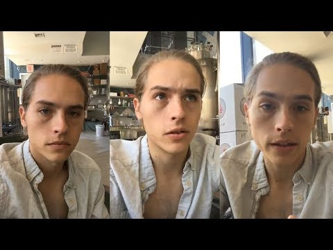 Dylan Sprouse  Instagram Live Stream  19 July 2018