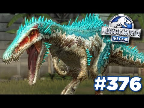 NEW BARYONYX MAXED!!! | Jurassic World - The Game - Ep376 HD