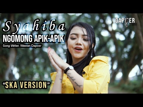 Syahiba Saufa - Ngomong Apik Apik (SKA Version) | (Official Music Video)