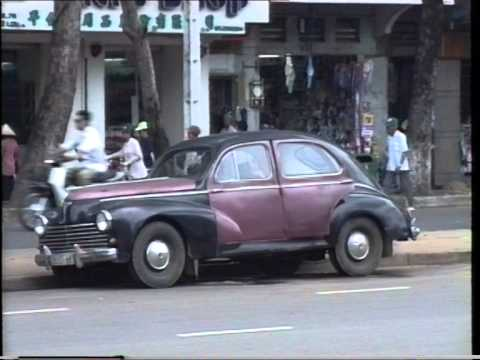Saigon, Vietnam: Vintage Cars of the 50s, 60s and 70s
