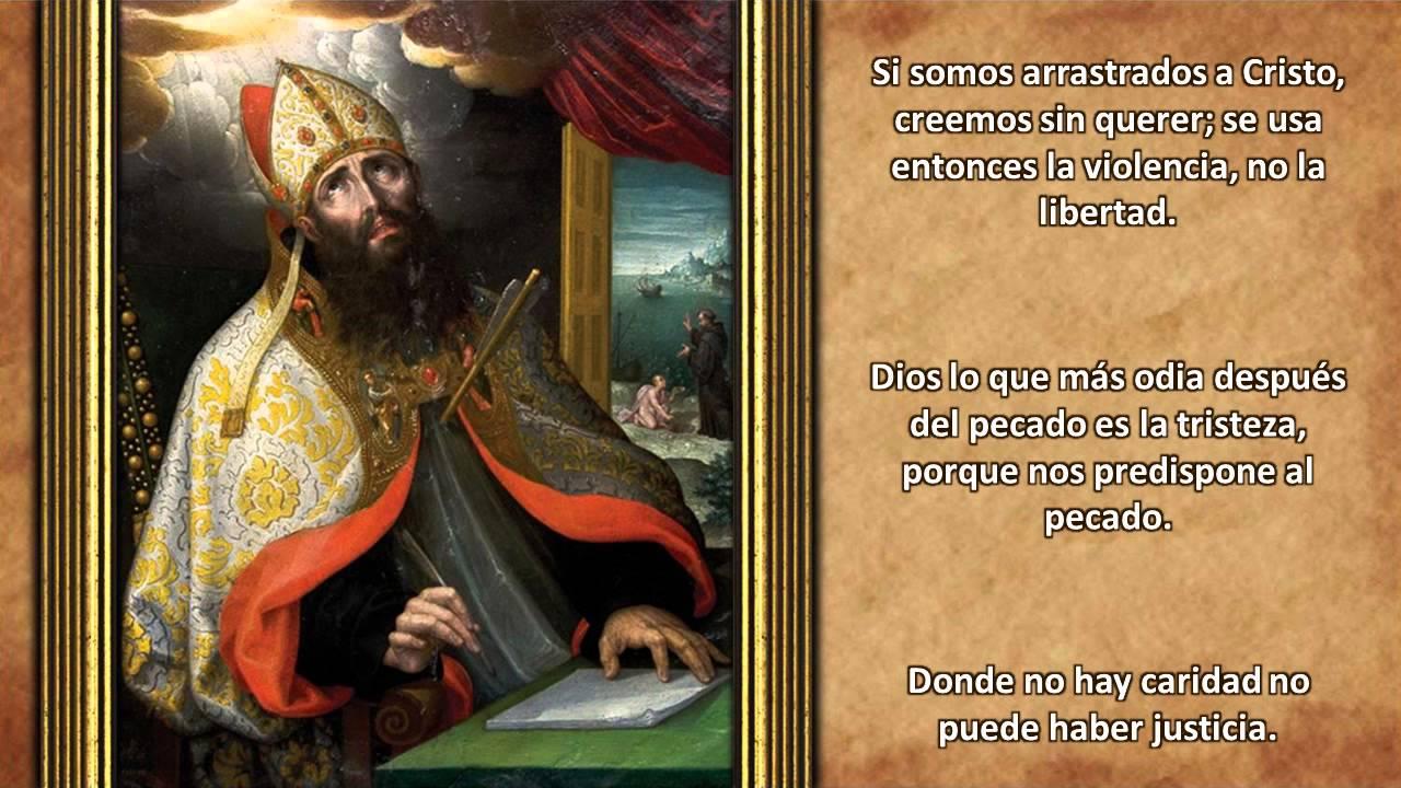 Frases Filosofos D C 2 San Agustin De Hipona Youtube