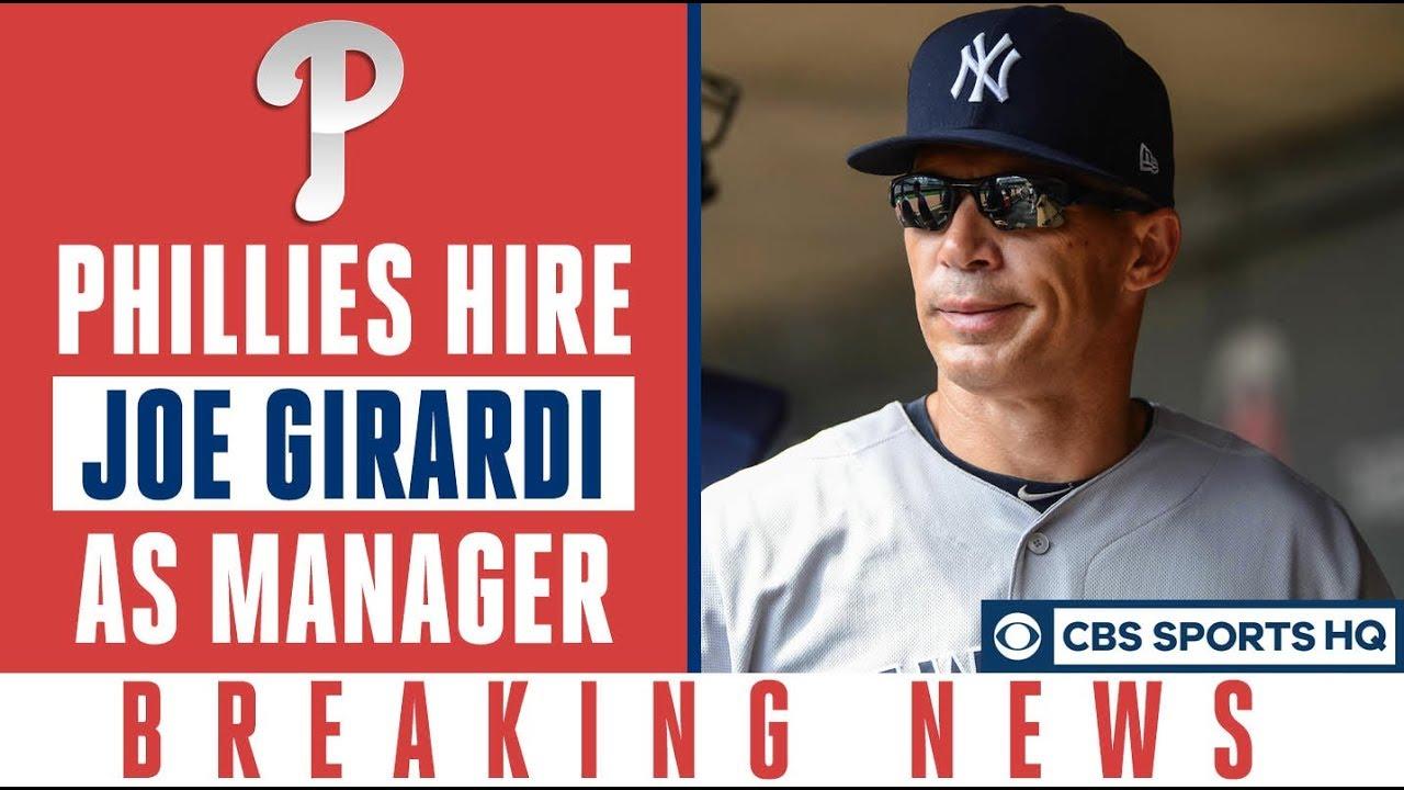 Philadelphia Phillies hire former Yankees manager Joe Girardi as ...