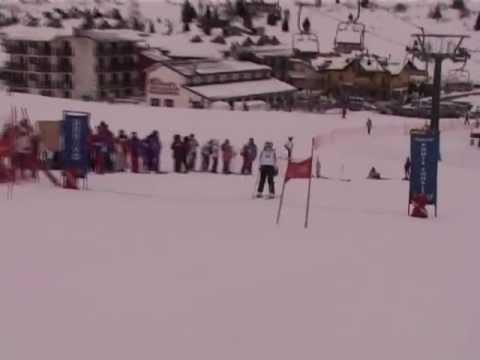 Campionato di sci - Prima prova