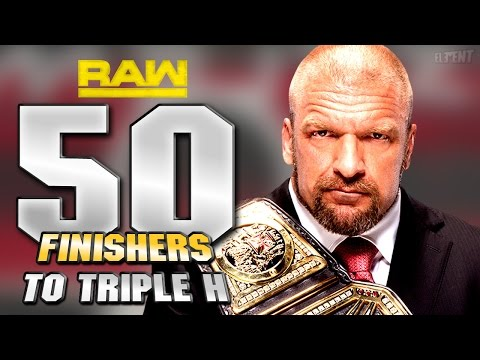 WWE Games  - 50 Finishers To Triple H!