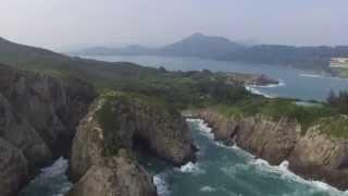 Tung Lung Chau 東龍洲 Hong Kong Drone film 東龍洲炮台特別地區