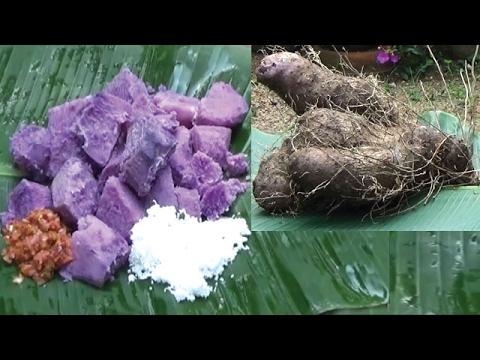 Amazing Purple Yams Prepared by my Mama using 10kg Village Yam