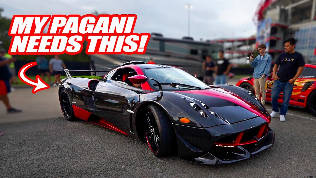 I NEED THE BODY KIT ON THIS PAGANI FOR MINE! *HUAYRA AERO PACKAGE*
