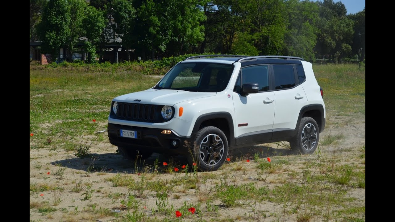 Test drive & Review 2015 Jeep Renegade Trailhawk ...