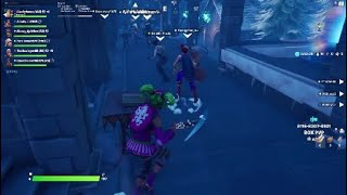 ZONE WARS TURNS INTO A 2V2   FUNNY MOMENTS   Fortnite Battle Royale