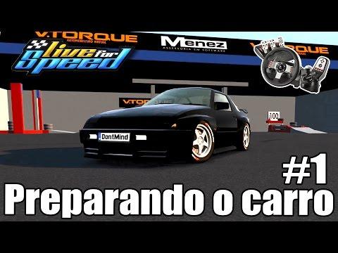 Live For Speed -💥Tutorial de Drift - Preparando o carro #1