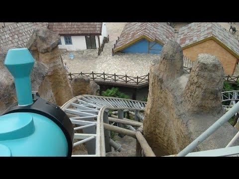 Mine Train Roller Coaster POV Intamin Happy Valley Shanghai China