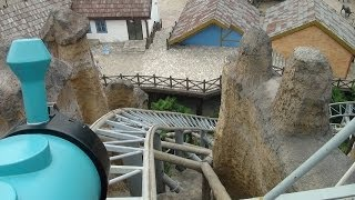 Mine Train Roller Coaster POV Intamin Happy Valley Shanghai China
