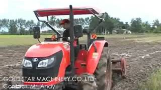 kubota m6040 on farm
