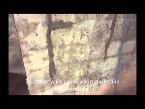 Chaplin CT Home Inspections - Foundation Crack Repairs