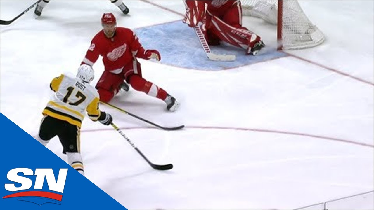 Penguins Pick Red Wings Apart With Precision Passing, Bryan Rust Scores 20th