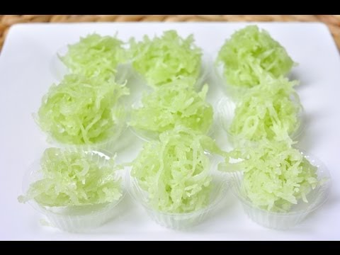 [Thai Dessert] Sweet Coconut Ball  (Ma Prao Kaew)