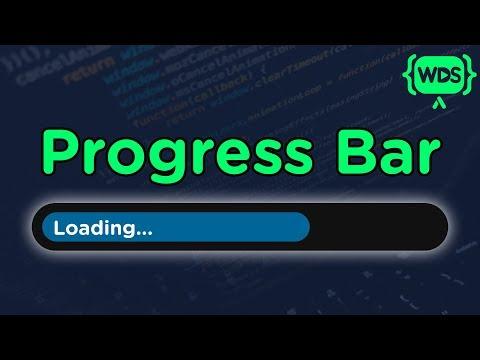 CSS Progress Bar Tutorial
