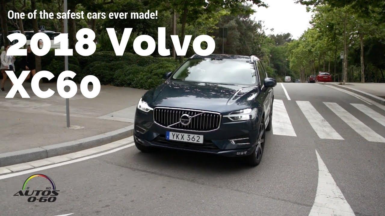 2018 Volvo XC60 1st. drive with Graeme McInally, Director of Crash ...