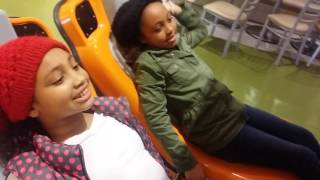 Virtual Roller Coaster Ride | The Ciera and Olivia Show