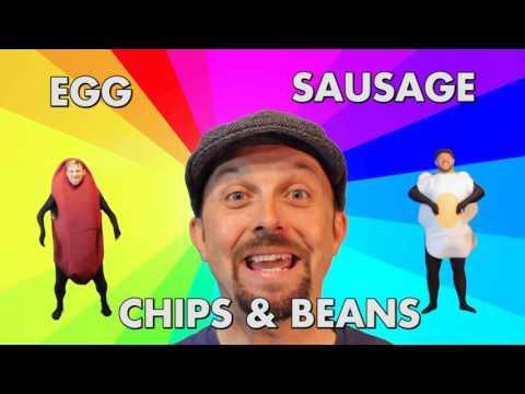 The Lancashire Hotpots - Egg, Sausage, Chips & Beans (Karaoke Singalonga Instrumental)