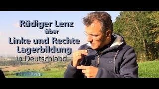Rüdiger Lenz über linke und rechte Lagerbildung in Deutschland | Nichtkampf.tv - THEMA