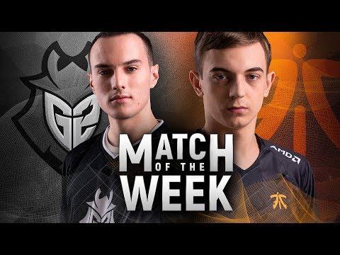 Match of the Week: G2 Esports vs Fnatic