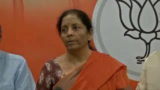 Press conference at BJP HQ : 19 May 2019