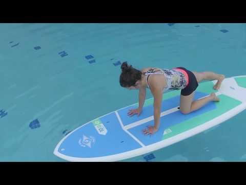 Adaptive Paddleboard Yoga at Ability360